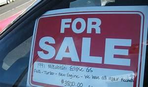 used car window sticker template - car sale sign