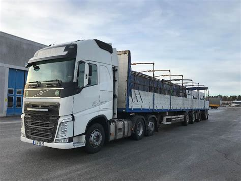 volvo trailer for used volvo volvo fh 460 med parator trailer tractor units