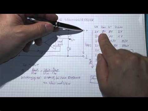 linearer spannungsregler aufbau funktionsweise und