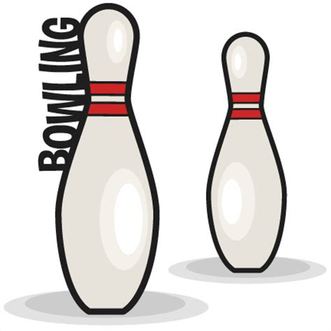 Bowling Pin Clipart Bowling Pin Set Svg Scrapbook Cut File Clipart Clip