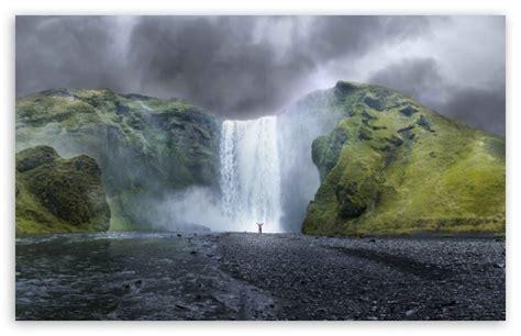 Waterfall 4k Hd Desktop Wallpaper For • Dual Monitor Desktops • Tablet