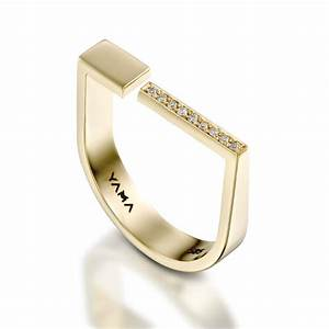 gold diamond ring innovative jewelry edgy ring charming With edgy wedding rings