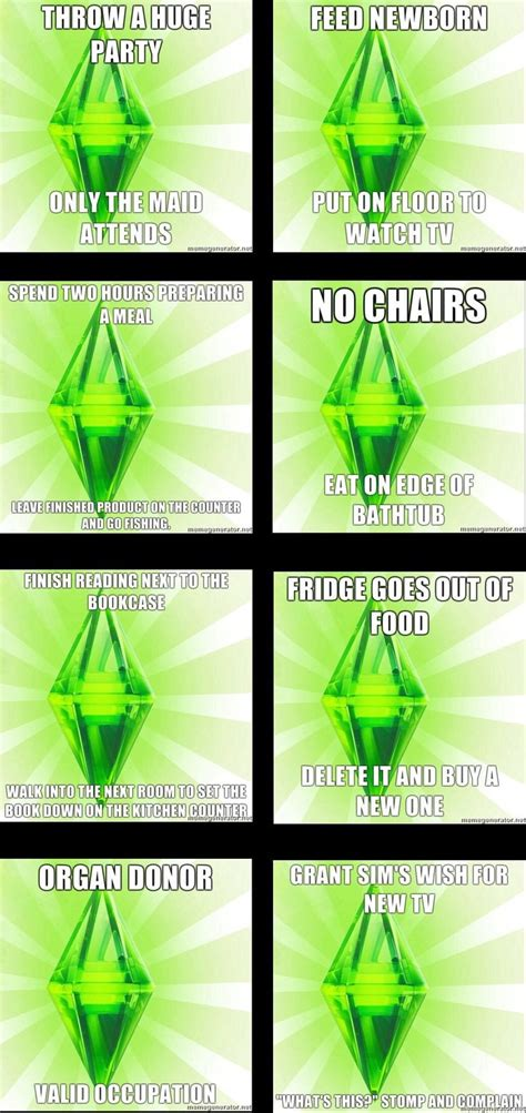 Sims 3 Meme - sims memes sims memes pinterest