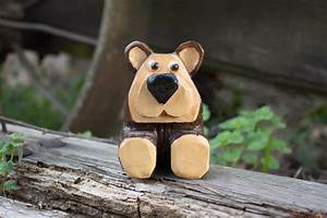 Simple Brown Bear Pattern - The Woodcarver's Cabin