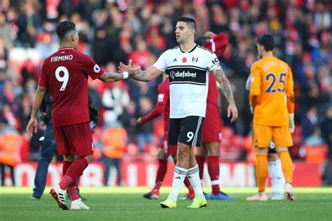 A.becker, a.robertson, n.phillips, n.williams, r.williams, g.wijnaldum, d.jota, j.milner, n.keita, x.shaqiri, m.salah fulham: Fulham Vs Liverpool 2019 : Fulham V Liverpool 2018 19 ...