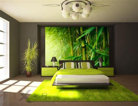 saftig gr 195 188 ner bambus fototapete f 195 188 r schlafzimmer schlafzimmer ideas schlafzimmer