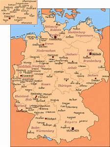 Schönsten Städte Deutschland : landkarte deutschland st dte deutschland karten und stadtpl ne der welt ~ Frokenaadalensverden.com Haus und Dekorationen