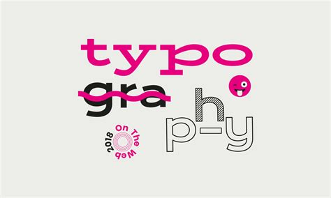 typography is the new black trends in web design