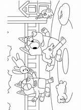 Playroom Bluey Coloring Fun Kleurplaat Kleurplaten Stemmen sketch template