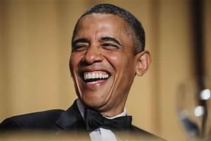 Barack Obama al desnudo: la risa, remedio infalible (FOTOS)