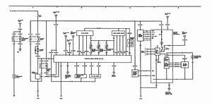 Acura Legend  1991  - Wiring Diagram - Hvac Controls