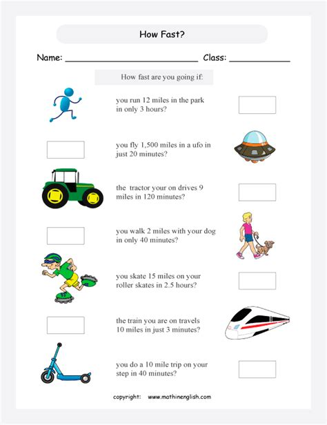 All Worksheets » Time Distance Speed Worksheets  Printable Worksheets Guide For Children And