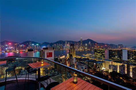 die besten rooftop bars  hongkong