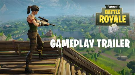 fortnite battle royale gameplay trailer play