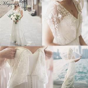 unique style bohemian chic vintage wedding dresses 2017 With robe de mariée retro chic