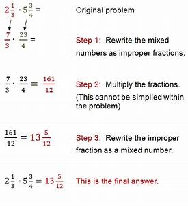 Convert Mixed Numbers To Improper Fractions Worksheet ...