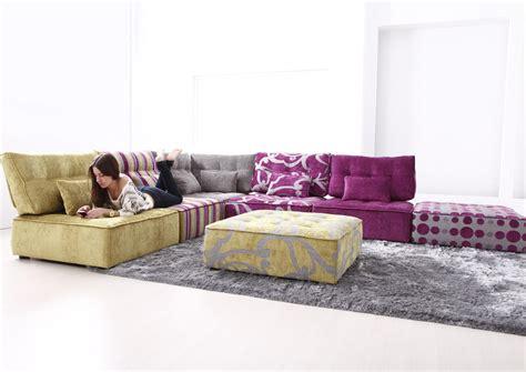 acheter un canapé d angle acheter votre canapé d 39 angle moderne modulable ton acidulé