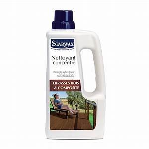 Produit Pour Nettoyer Terrasse En Bois : nettoyant concentr pour terrasse en bois et composite ~ Zukunftsfamilie.com Idées de Décoration
