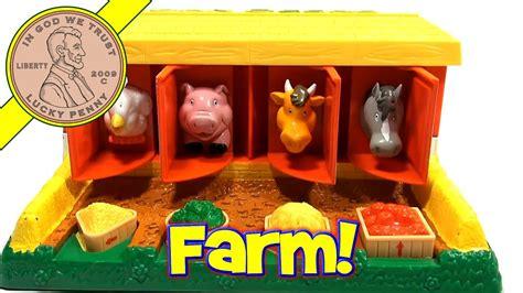 john deere pop  barn animals toy  rc youtube