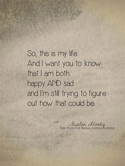 Sad Quotes Happy Read Being Must Quote