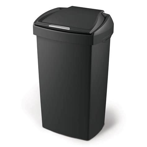 poubelle cuisine 30 litres poubelle de cuisine à pression en plastique noir 60 litres