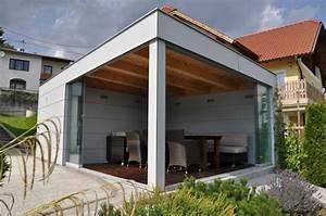 Terrassenüberdachung Mit Schiebeelemente : schiebewand aus glas f r freistehendes poolhaus ~ Sanjose-hotels-ca.com Haus und Dekorationen