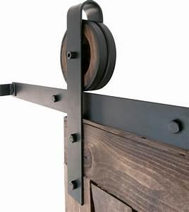 black 5 10ft ft wide strap rustic sliding barn door closet With 5 ft wide barn door