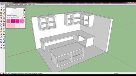 sketchup cuisine kitchen