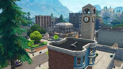 Tilted Towers Fortnite Tower Area Geo Fi