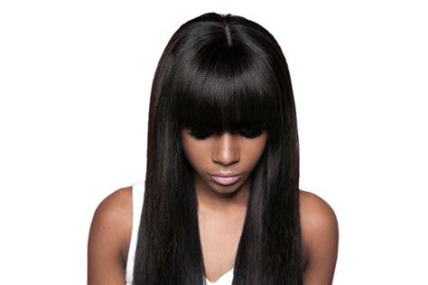 weave fringe hairstyles full fringe weave hairstyles hair