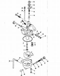 Mariner 3 5 Hp Carburetor Parts
