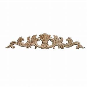 Ornamental mouldings 3364pk 7 32 in x 16 11 16 in x 3 1 for Kitchen cabinets lowes with decorative metal disc wall art