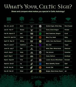 Irish Celtic Symbols And Meanings Chart Astrology Celtic Symbols And Irish Astrology Birthdays