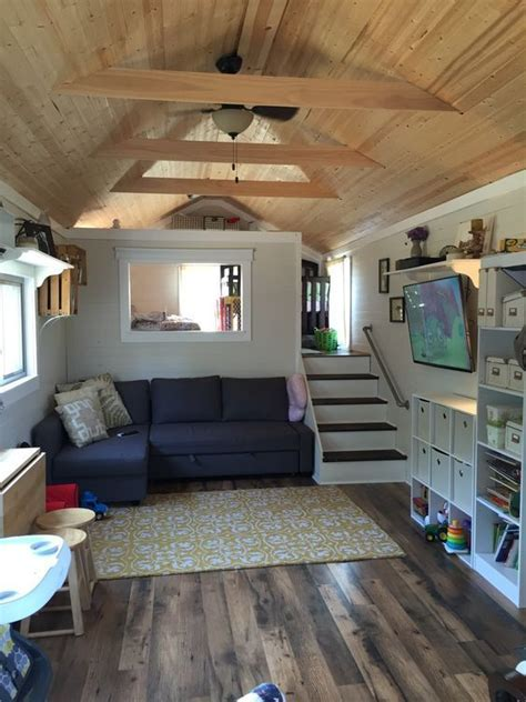 In law suite above garage   Tiny houses are so cool! in