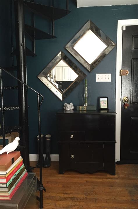 benjamin moore dark harbor  images teal master