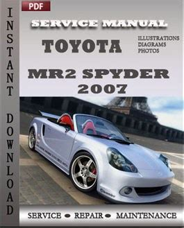 free service manuals online 2003 toyota mr2 parental controls toyota mr2 spyder 2007 free download pdf repair service manual pdf