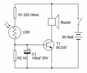 super circuit diagram morning alarm circuit diagram based ldr With ldr based circuit
