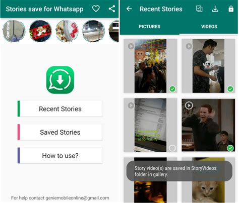 how to save any whatsapp status or