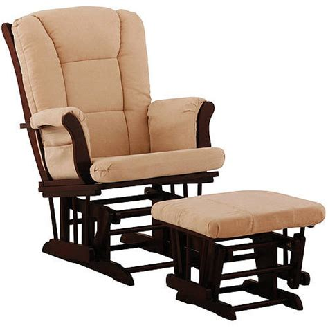 Walmart Rocking Chair Glider Recall by Storkcraft Tuscany Glider And Ottoman Cherry And Beige