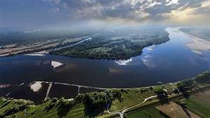 Vistula River Poland   Dronestagram