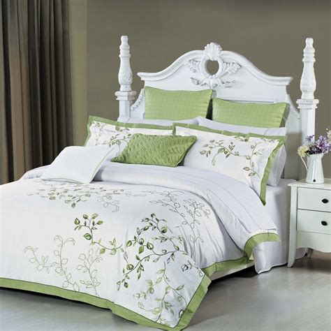 And White Duvet Cover Sets by Green And White Duvet Cover Sets Sweetgalas