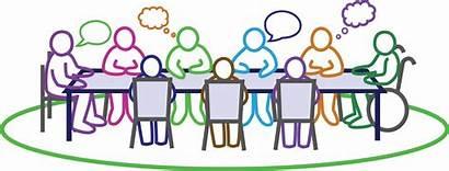 Meeting Community Council Clipart Cartoon Board April