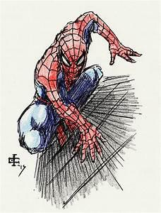 Spider-man: Colored Pencil by JWMCasavant on DeviantArt