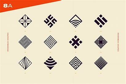 Abstract Geometric Shapes Marks Youworkforthem Graphic Logos