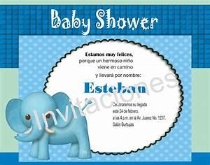 Invitación Imprimible Personalizada Para Baby Shower Niño $ 35 00 en Mercado Libre