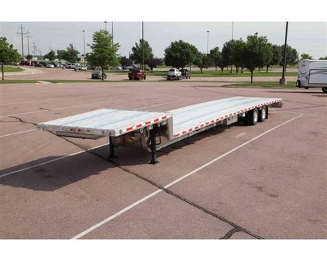 53 Step Deck With Rs by 2016 Trail King Aacs40 53 Drop Deck Trailer For Sale