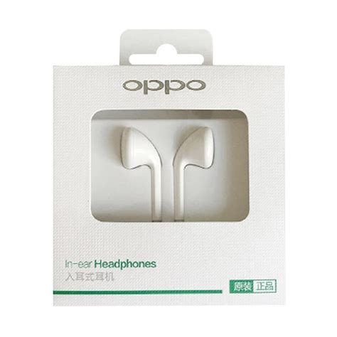 oppo handfree headset jual oppo original headset handfree mh133 headset for