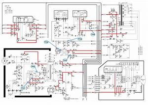 Schematic Diagrams  Samsung Cs21m16mjzxnwt Crt Tv  U2013 How To Enter The Service Mode  Circuit Diagram