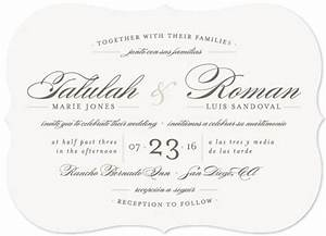 quotlove languagequot customizable wedding invitations in gray With wedding invitations en espanol