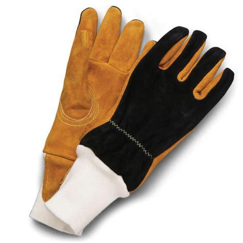 shelby pigskin firefighting gloves